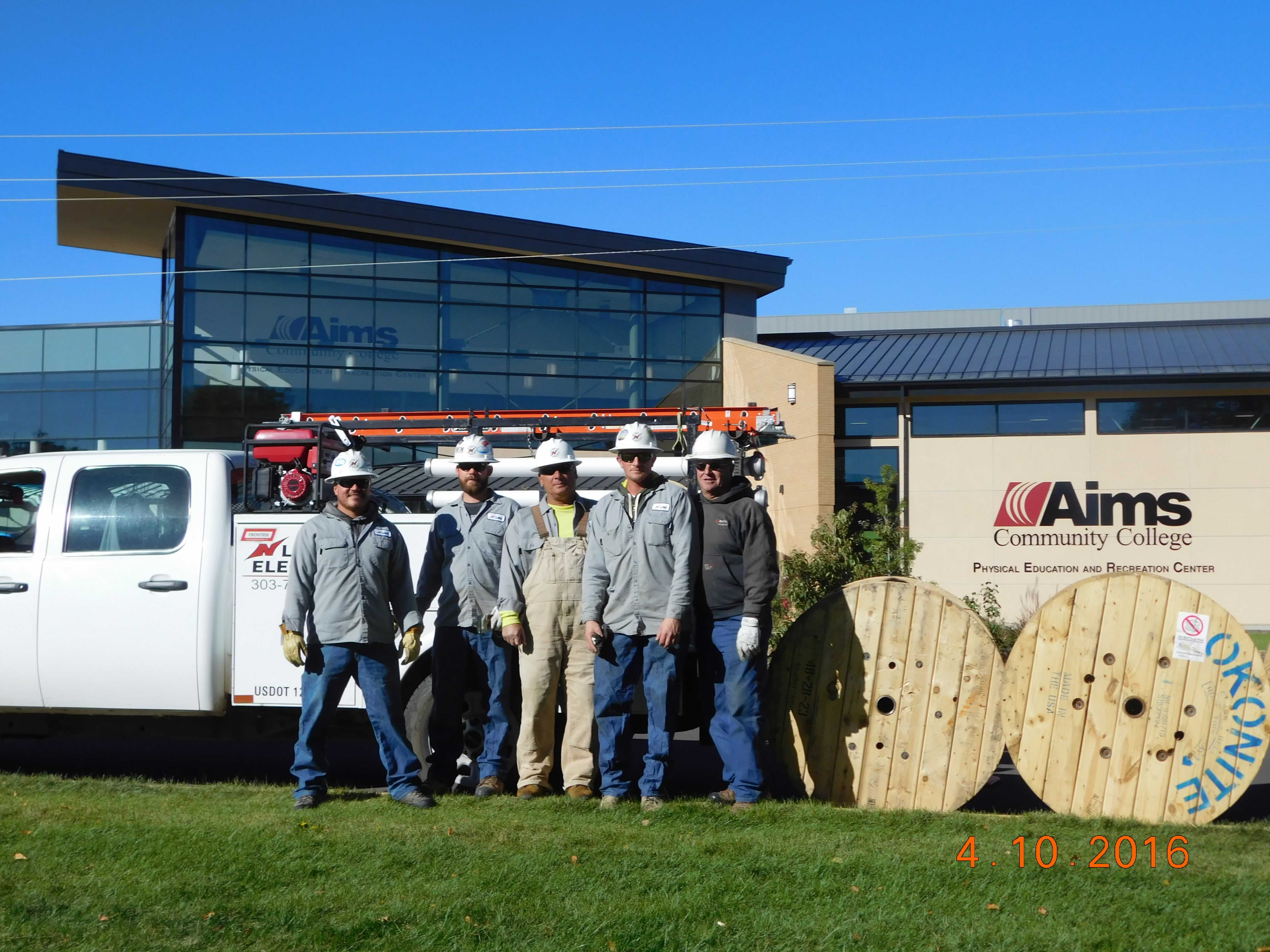 N Line Electric Crew at AIMS Community College